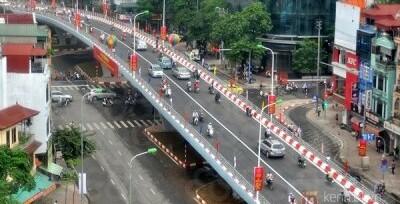 Cầu vượt Đại Cồ Việt - Trần Khát Chân - Đại Cồ Việt, P. Cầu Dền, Q. Hai Bà  Trưng, Tp. Hà Nội - Cốc Cốc Map